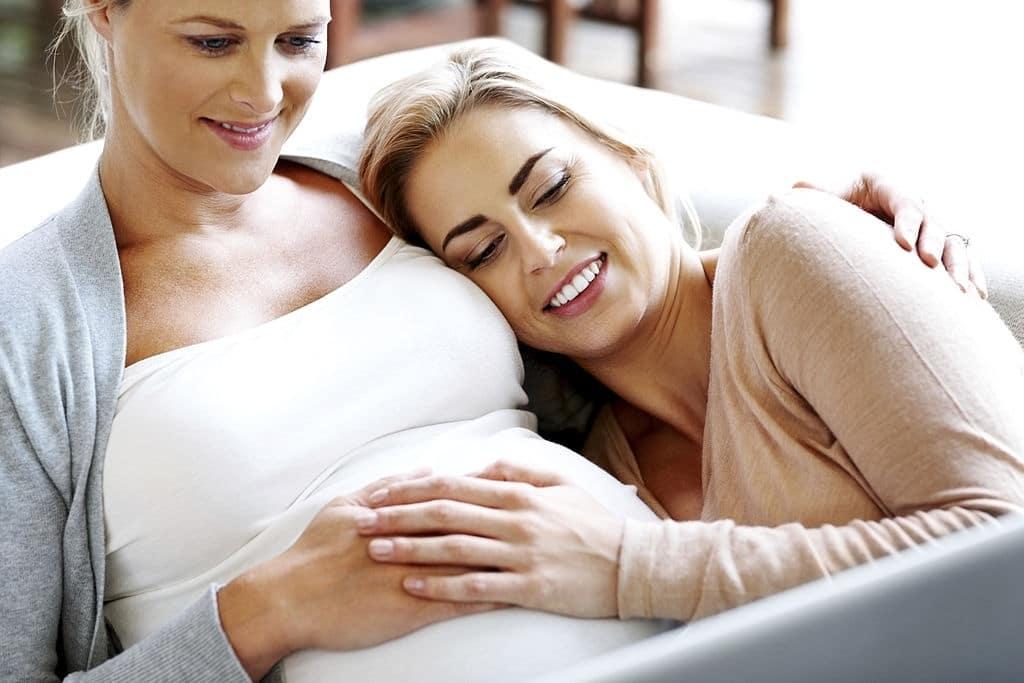 maternidad compartida parejas lesbianas