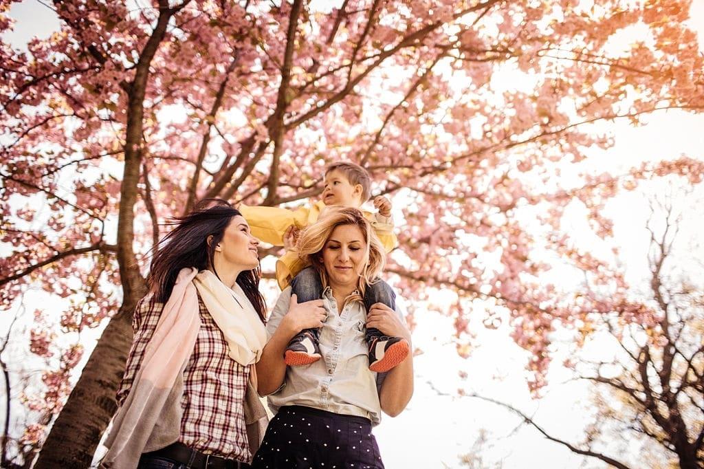 madres lesbianas con hija fertilidad